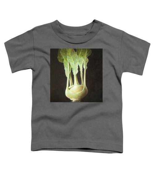 Kohl Rabi, 2012 Acrylic On Canvas Toddler T-Shirt by Lincoln Seligman