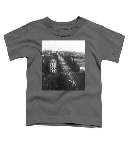 Ku Klux Klan Parade Toddler T-Shirt by Underwood Archives