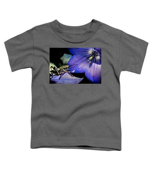 Contemplation Of A Pistil Toddler T-Shirt by Karen Wiles
