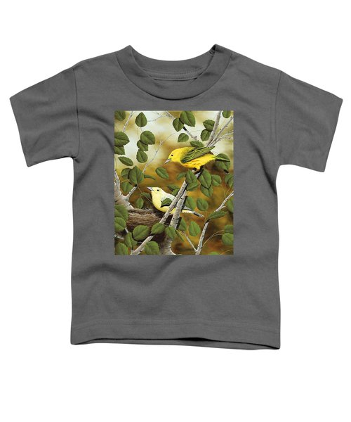 Love Nest Toddler T-Shirt by Rick Bainbridge