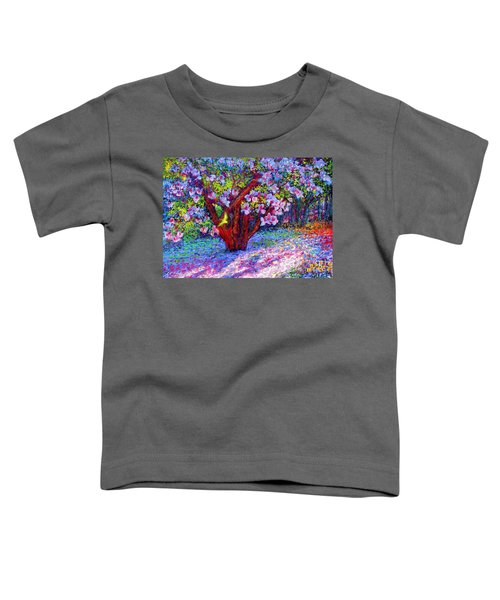 Magnolia Melody Toddler T-Shirt by Jane Small