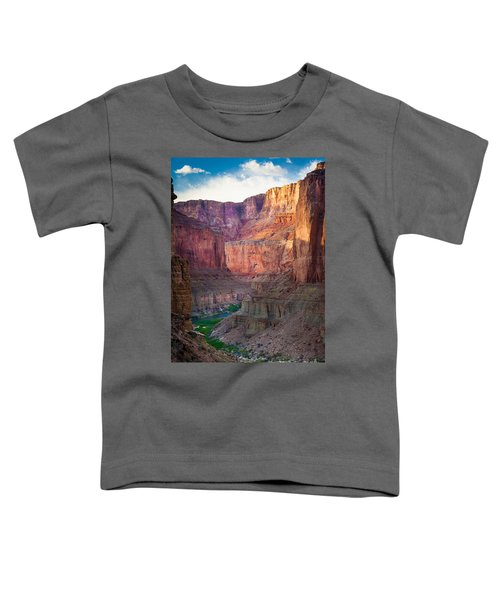 Marble Cliffs Toddler T-Shirt by Inge Johnsson