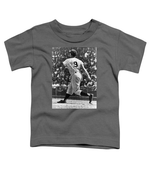 Maris Hits 52nd Home Run Toddler T-Shirt by Underwood Archives