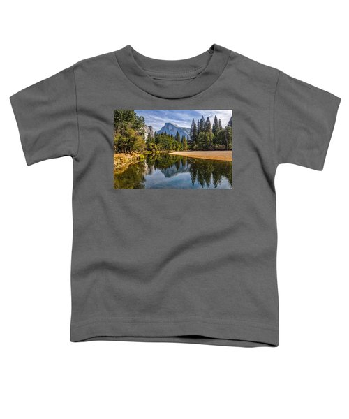 Merced River View II Toddler T-Shirt by Peter Tellone