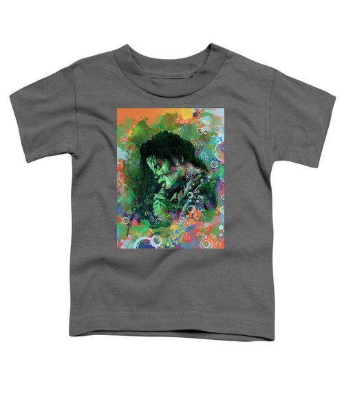 Michael Jackson 15 Toddler T-Shirt by Bekim Art