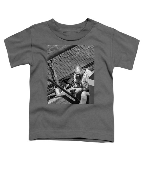 Moment Of Reflection Toddler T-Shirt by Tom Gort
