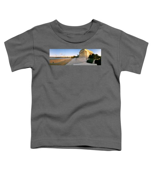 Monument At The Riverside, Jefferson Toddler T-Shirt by Panoramic Images