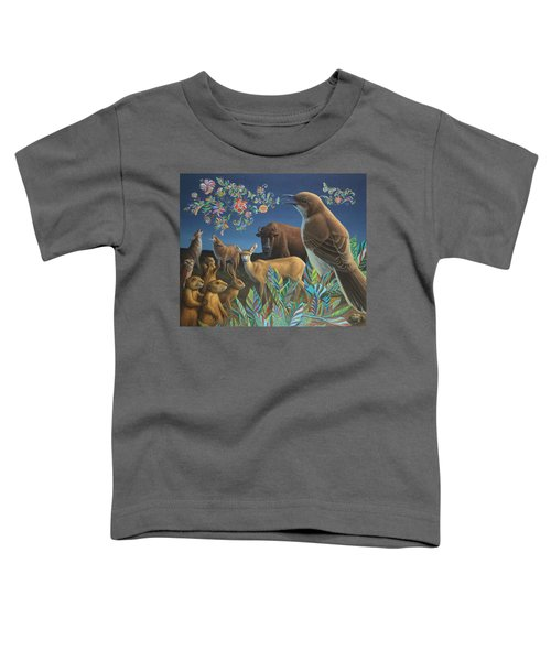Nocturnal Cantata Toddler T-Shirt by James W Johnson