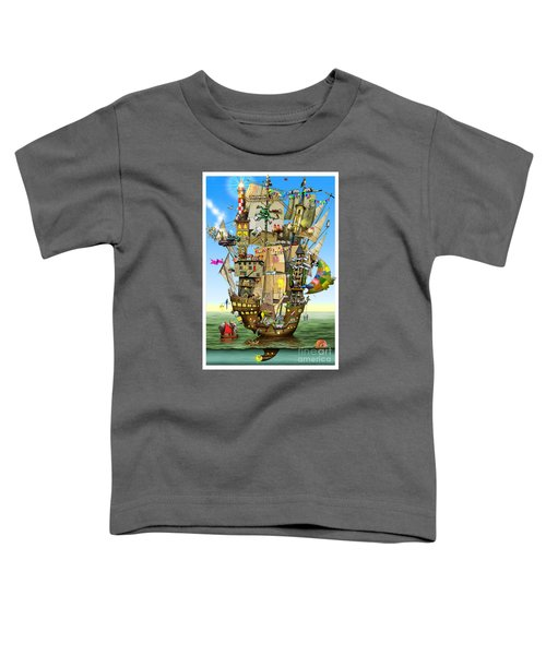 Norah's Ark Toddler T-Shirt by Colin Thompson