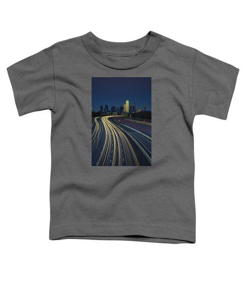 Oncoming Traffic Toddler T-Shirt by Rick Berk