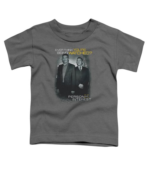 Person Of Interest - Watched Toddler T-Shirt by Brand A