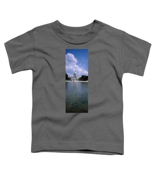Reflecting Pool With A Government Toddler T-Shirt by Panoramic Images