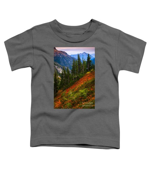 Sahale Arm Toddler T-Shirt by Inge Johnsson