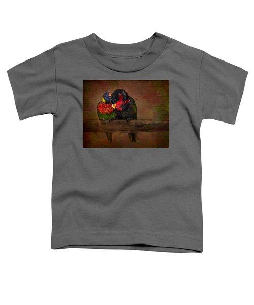 Secrets Toddler T-Shirt by Susan Candelario