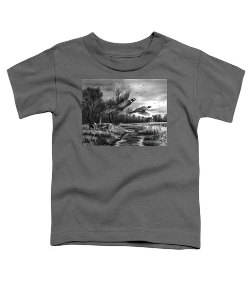 Taking Flight  Toddler T-Shirt by Peter Piatt