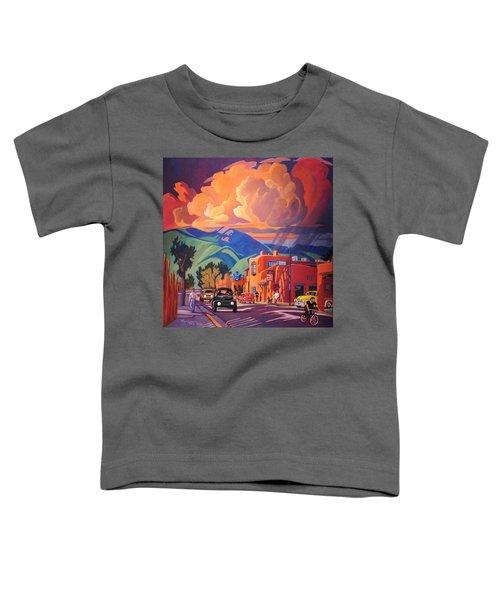 Taos Inn Monsoon Toddler T-Shirt by Art James West