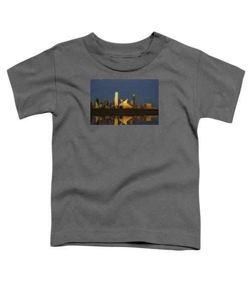 Texas Gold Toddler T-Shirt by Rick Berk