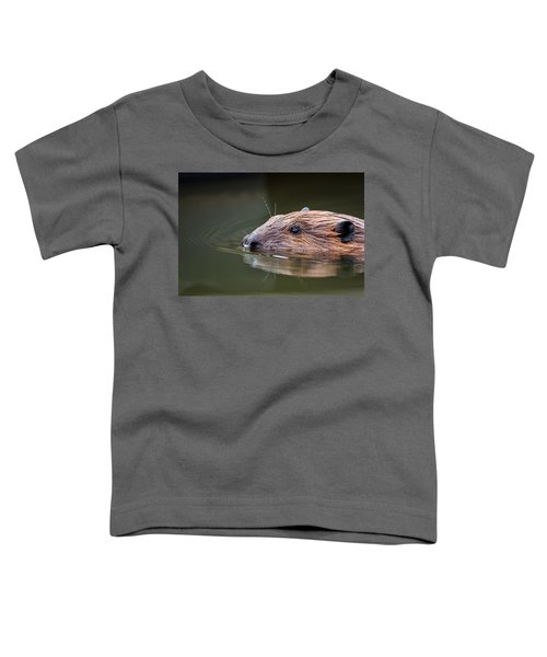 The Beaver Toddler T-Shirt by Bill Wakeley