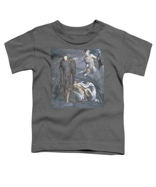 The Finding Of Medusa, C.1876 Toddler T-Shirt by Sir Edward Coley Burne-Jones