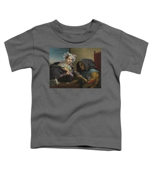 The Fortune Teller Toddler T-Shirt by Adele Kindt