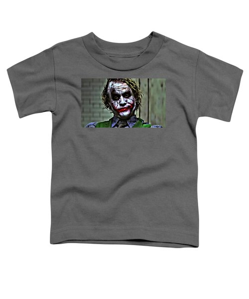 The Joker Toddler T-Shirt by Florian Rodarte