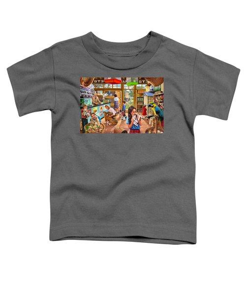 The Pet Shop Toddler T-Shirt by Steve Crisp