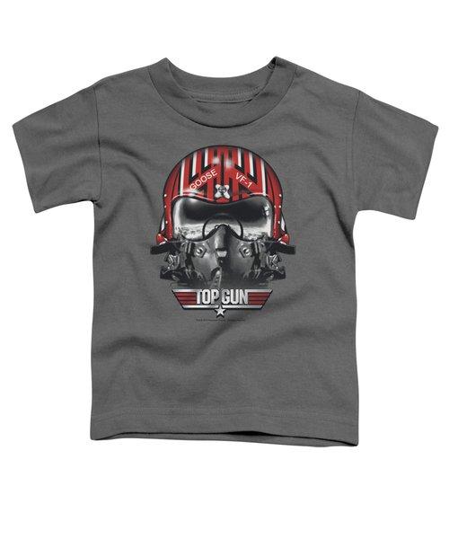 Top Gun - Goose Helmet Toddler T-Shirt by Brand A