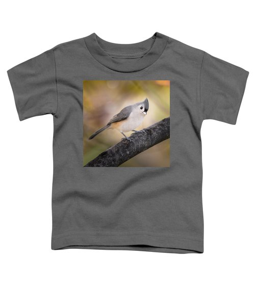 Tufted Titmouse Toddler T-Shirt by Bill Wakeley