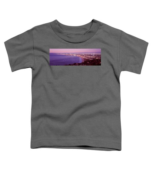 View Of Los Angeles Downtown Toddler T-Shirt by Panoramic Images