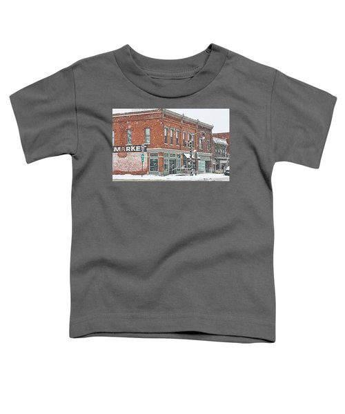 Whitehouse Ohio In Snow 7032 Toddler T-Shirt by Jack Schultz