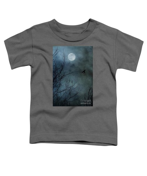 Winter's Silence Toddler T-Shirt by Trish Mistric