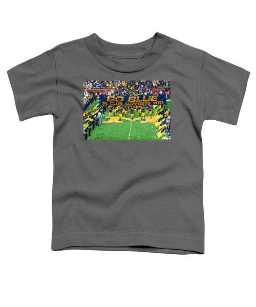 Wolverines Rebirth Toddler T-Shirt by John Farr