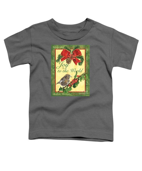 Xmas Around The World 2 Toddler T-Shirt by Debbie DeWitt