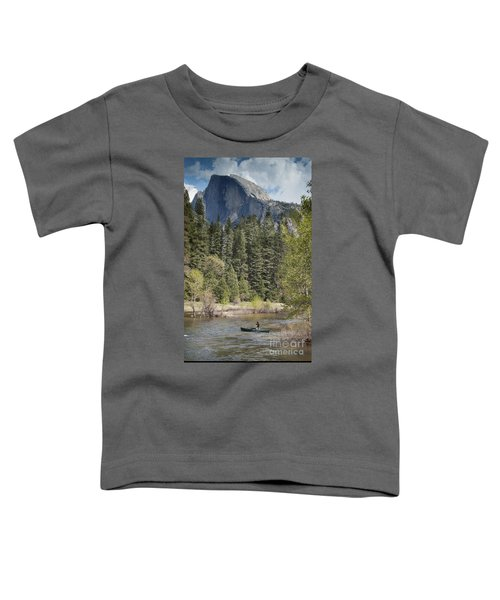 Yosemite National Park. Half Dome Toddler T-Shirt by Juli Scalzi
