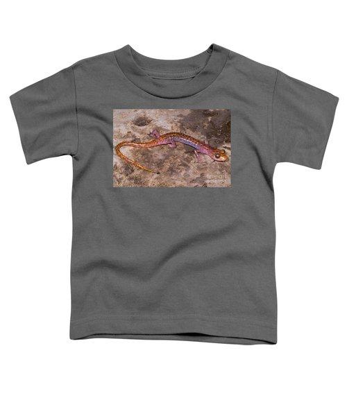 Cave Salamander Toddler T-Shirt by Dante Fenolio