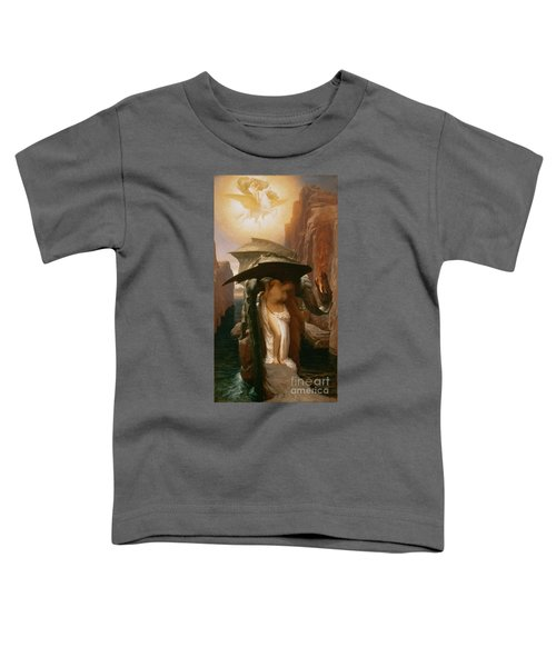 Perseus And Andromeda Toddler T-Shirt by Frederic Leighton