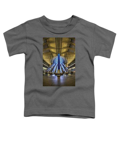 Alien Landing Toddler T-Shirt by Evelina Kremsdorf