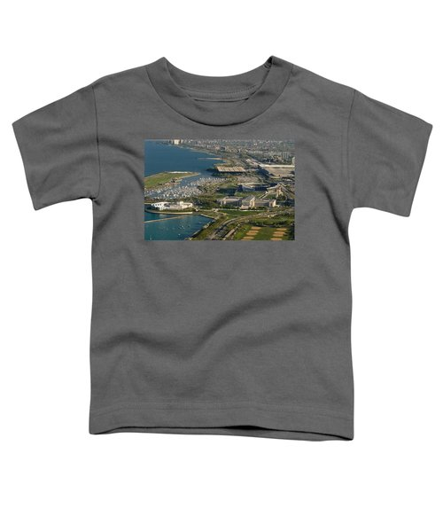 Chicagos Lakefront Museum Campus Toddler T-Shirt by Steve Gadomski