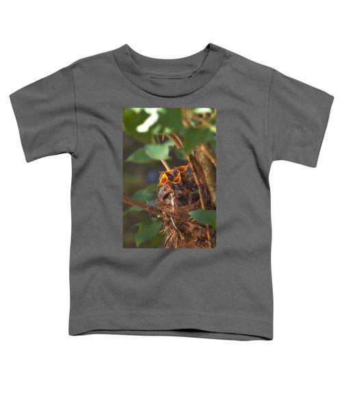Feeding Time Toddler T-Shirt by Joann Vitali