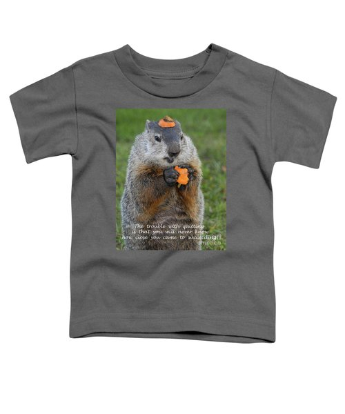 Succeeding Toddler T-Shirt by Paul W Faust -  Impressions of Light