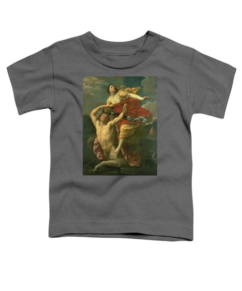 The Abduction Of Deianeira Toddler T-Shirt by  Centaur Nessus