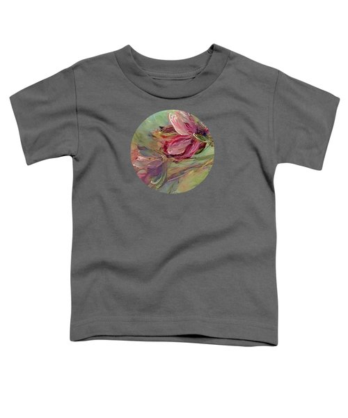 Flower Blossoms Toddler T-Shirt by Mary Wolf