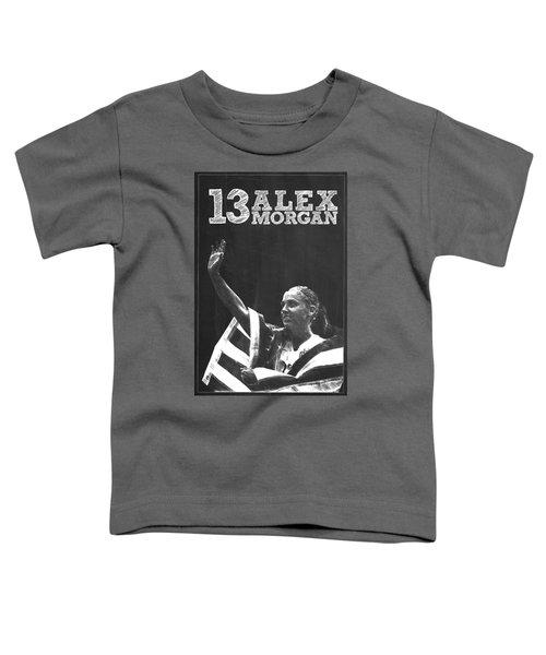 Alex Morgan Toddler T-Shirt by Semih Yurdabak