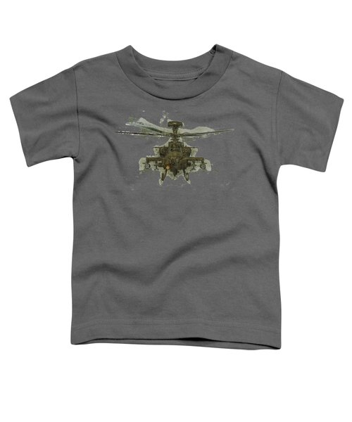 Apache Helicopter Toddler T-Shirt by Roy Pedersen