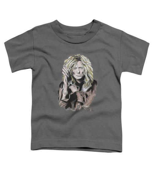 David Coverdale Toddler T-Shirt by Melanie D