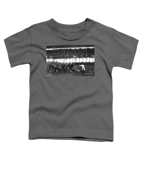 Football Game, 1925 Toddler T-Shirt by Granger