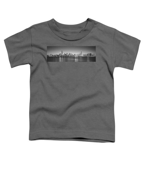 Skyscrapers At The Waterfront, Hancock Toddler T-Shirt by Panoramic Images