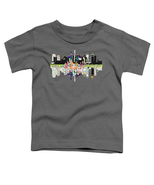 Tokyo Skyline Toddler T-Shirt by John Groves