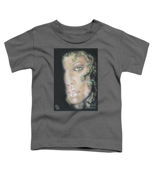 1st Medusa Toddler T-Shirt by John Sodja