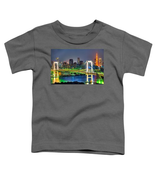 Tokyo - Japan Toddler T-Shirt by Luciano Mortula